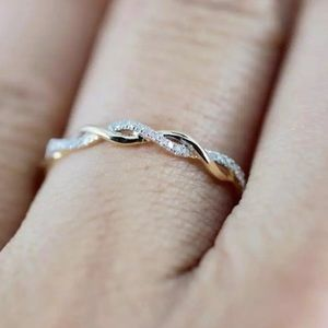Twisted Rose Gold Ring